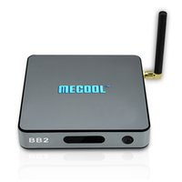 Wholesale Facebook Video Youtube - Mecool BB2 S912 Octa core Smart TV Box Android 7.1 boxes 2GB 16GB Dual Wifi KD17.1 Fully Loaded 4K Video Miracast Streaming Media Player