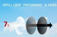 gafas de sol lejanas al por mayor-personalizado 1.56 HMC multicolor fotocromático lejano / cerca Aspira lentes de resina lentes lentes SV-8 --- + 6 para gafas de sol recetadas envío gratis