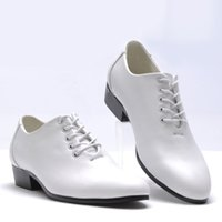 Wholesale Low Price Prom Shoes - Hot Sell Low Price men's wedding shoes prom shoes Dress Shoes white black Size 37-44