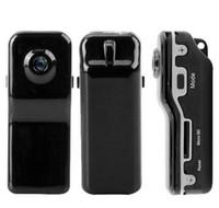 Wholesale Mini Digital Camera Web Cam - Mini DVR Camcorder Sport Video Recorder Digital Spy Hidden Camera Web Cam MD80 with retail box