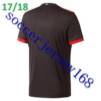 Wholesale Thailand Jersey Milan - 2017 2018 AC Milan Third Soccer Jersey BONUCCI Football Shirts Bacca ANDRE SILVA Romagnoli Bonaventura Serie A Maillot Thailand Quality