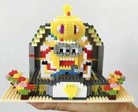Wholesale Minion Bricks - 171217 Minions 10pcs Building Blocks DIY 3D Building Blocks Bricks Action Mini-Figure Cute Despicable Me Minion DAVE Toys Best Gift for Kids