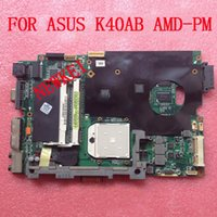 ASUS SATA DDR2 Free shipping K40AB+CPU For ASUS Laptop Motherboard K40AB K40AF AMD-PM System board AMD Mainboard, fully tested & working perfect