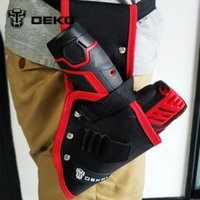 Atacado-DEKO 10.8V Cordless broca Holster Tool Belt Pouch Holder Broca Pocket