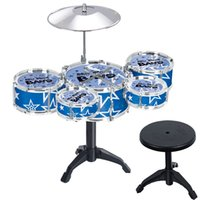 Wholesale King child simulation drum suit KidiBeats Kids Drum Set English packages