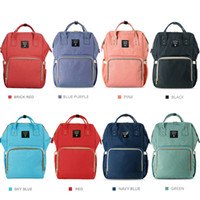 Wholesale Baby Diaper Bags Backpacks - Diaper Backpack Insert Organizer Diaper Changing Bag Diaper Bags Mummy Baby Bag Large Volume Outdoor Travel Bags