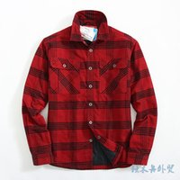 padded check shirt - New Winter Shirts Men Flannel Check Shirt Cotton padded Thermal Plaid Shirt Mens Winter Shirts Promotion Camisa Cuadros