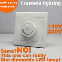 Wholesale led dim for sale - Group buy Triac SCR dimmer LED to leading edge trailing edge V V LED dimmer LED dimming switch