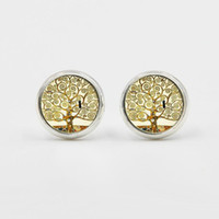 Wholesale new punk earrings resale online - New Classic Fashion Tree of Life Earrings Bohemian Boho Jewelry Vintage Punk Cute Earring Stud