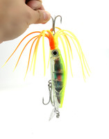 Cheap Hard Baits 3D bionic eye triangle barbed hooks Best Swimbaits Saltwater Bright colors easy to attract big fish