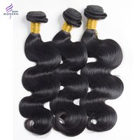 Wholesale New Star Hair Products - New Star Modern Show Hair Products Peruvian Body Wave Human Hair Bundles Peruvian Virgin Hair Bundles 10-28 Inch Mixed Length