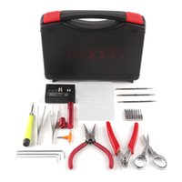 Wholesale A3 Bags - Original Vpdam A3 Vapor Kits DIY Tool Box Kit For Bag Coil Rebuilding Tank RDA RBA Atomizer VS Coil Master V3 100% Authentic 2255017