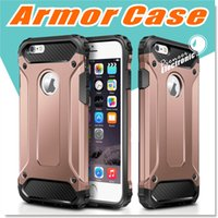 Wholesale Dual Layer - For S8 iPhone X 8 7 Plus Case Hybrid Dual Layer Armor Cases Protective Back Case Shockproof Cover for Heavy Duty Slim Hard Shell Protection.