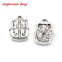 Wholesale shield pendants - MIC 100pcs Ancient silver zinc alloy Cross Shield Charm Pendants 15X23mm DIY Jewelry