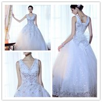 Wholesale Gowns Ancient - 2017 lace wedding restoring ancient ways, beaded sequined real bridal gown wedding dress, free shipping, professional custom wedding dress,
