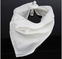 Wholesale Newborn Baby Handkerchief - Wholesale- Freeshipping 6Pcs  Pack NewBorn Baby Infant handkerchief Gauze Muslin Square Bamboo Bath Wash cloths bibs Towel 40*40cm