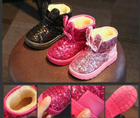 Wholesale Models Fur Snow - 2016 Winter burst models children snow boots snow boots waterproof baby shoes thicker warm children's shoes