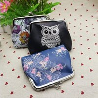 Wholesale Wholesale Fashion Purses China - 2016 Hot On Sale girls Wallets For Womens Owl Elephant Pattern Female Wallet Card Holder Coin Purse China wallet ladies