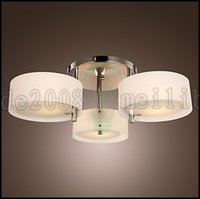 Wholesale Style Mini Rooms - Modern Contemporary Mini Style Chrome Metal Chandeliers   Flush Mount Living Room   Bedroom   Chandelier Modern Living 1 3 5 9 Lights