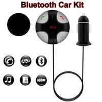 Wholesale Universal Bluetooth Car Kit FM Transmitter TF Card MP3 Player FM Radio USB Car Charger with LED Display Handsfree for Phone Call FM29B