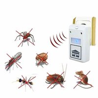 Wholesale Electronic Pest Control Machine - 2016 hot sale eco-friendly Plus Pest Repelling Aid Electronic Control Ultrasound Machine Animal Repeller 110V 220V