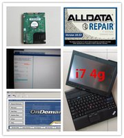 Wholesale Update Software - auto repair laptop x201t i7 4g alldata v10.53 mitchell on demand 2in1 with 1000gb hard disk 2018 installed version ready to use