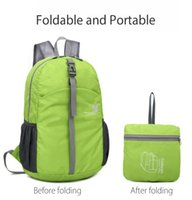 Wholesale waterproof backpacks for cycling resale online - FREEKNIGHT FK0722 Waterproof Foldable Backpack Shoulder Bag for Outdoor Climbing Hiking Cycling Colors