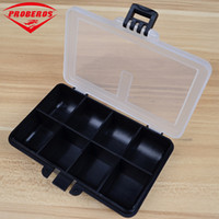 Wholesale lures boxed resale online - Compartment Plastic Fishing Tackle Box For Fishing Lures X7 X2 cm Fishing Accessaries Hook Spoon Transparent