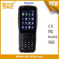 Code Barres Android Pas Cher-Vente en gros- GPRS WIFI 3G Bluetooth Android 1D 2D Barcode Scanner PDA appareil de poche