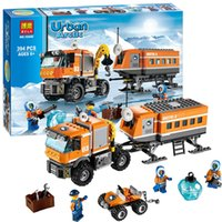 Wholesale 394pcs Arctic Outpost Explorer Set Building Bricks Blocks Toy Bela