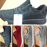 Wholesale basketball 48 - DORP shipping 350 boost Running shoes Classic Low Kanye West Athletic Boots Ankle Boots Low cut Shoes Sports running shoes 36~48