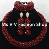 Wholesale Custom Acrylic Earrings - jewelry sets dubai custom jewelry set 2017 charms statement gold nigerian wedding african beads party bridal jewelry set