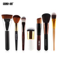 Wholesale maange brush set resale online - Maange Multifunction Makeup Brush Set Eye Shadow Powder Blusher Foundation Brush Face Contour Brushes Cosmetics Beauty Tool Kit