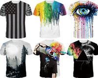 Wholesale Nwt Shirt - 2017 NWT Men Fashion3D T-shirt novelty casual streetwear men and women tops Short Sleeve Creative printed Tees M~2XL