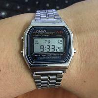 Wholesale Luxury Watches Chrono - Top Brand luxury Men Women Sport Digital Watch A159W montre femme Calendar Chrono Relogio Ladies Watch For men reloj hombre