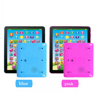 Wholesale Y Pad Educational - ypad Learning Machine Computer Y-pad Table Learning Machine English Computer for Kids Children Educational Toys Music+Led free ship