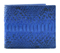 Wholesale Genuine Snake Skin - Wholesale- Luxury mixed color real exotic snake python skin wallet, short genuine python leather wallet
