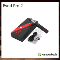 Wholesale Flow Valve - Kanger Evod Pro 2 Starter Kit All in One Design 4ml Capacity and 2500mah Built in Battery Sliding Symmetrical Air Flow Valve 100% Original