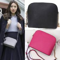 Wholesale Handbag Buttons - Wholesale-popular brand women bags 2017 New designer brand women messenger bags patent leather Handbags Shoulder Bag Women shopping bag