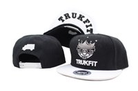 Wolesale New trukfit snapback hat skate personalizado MISFIT chapéus snapbacks snap back cap mixed men women caps 8 cores DHL free shipping