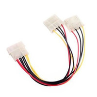 Wholesale Laptop Power Pin - 4-Pin IDE ATA Y-Splitter Power Cable