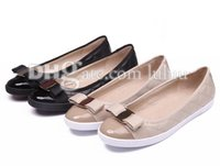 Wholesale Sexy Flat Comfortable Shoes - womens brand logo shoes Flats canvas Casual Flat fashion summer party sexy round toe Woman Selling breathable comfortable gingham flat shoes