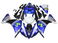 Wholesale Green R1 Fairings - 3 Free Gifts New ABS Injection High quality Fairing Kits 100% Fit For YAMAHA YZF1000 R1 YZF-R1 2012 2013 2014 12 13 14 blue green movistar