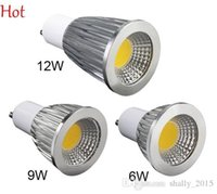 Wholesale Pop Lamp - Super Bright LED Bulbs Light Dimmable Led Warm Cool White 85-255V 5W 8W 12W GU11 COB LED lamp Light LED Spotlight Pop SV118251