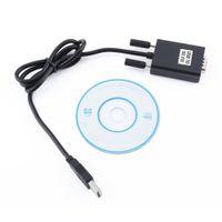 usb db9 seri kablo toptan satış-500 adet USB 9 Pin RS232 RS-232 seri port com adaptör kablosu dönüştürücü Y-105 USB Çift Çip DB9 GPS PL2303 + ADM211 1 M / 3ft yeni