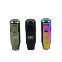 Wholesale Wholesale Shift Knobs - PQY STORE-NEW RACING MUGEN Shift Knob GEAR KNOBS for Honda Acura M10x1.5 BALCK,NEO CHROME,TITANIUM PQY