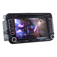 Wholesale Car Skoda Octavia - 7inch Double 2 Din 1024*600 Android 5.1 Car DVD Player For Volkswagen Passat Skoda Octavia Superb Navigation GPS Radio + Canbus