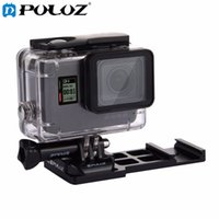 Wholesale Gopro Side Mount - PULUZ for gopro accessories Cantilever Picatinny Weaver Quick Release Gun Rail Side Mount for GoPro HERO5  4  3+  3  2  1