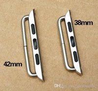 Pour Apple Watch 38mm 42mm Convenient Metal Watch Band Strap Adapter Exclusivement conçu Apple Watch Buckle