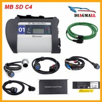Wholesale Mercedes Benz Diagnostic Tool C4 - 2016 High Quality MB Star SD Connect C4 Diagnostic Tool For Mercedes SD C4 With Wifi Software DHL Free Shipping